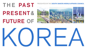 Presentations By People From The U S State Department The Washington Dc Embassy Of Korea And The Korea Economic Insute Of America Will Be Given In The